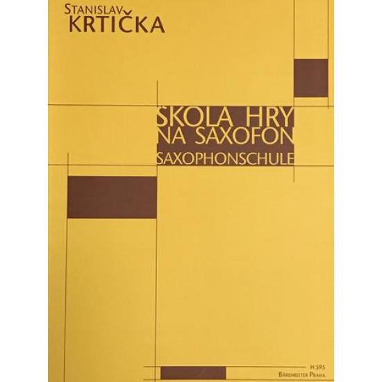 Stanislav Krtička - Škola hry na saxofon